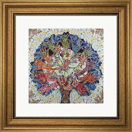 d5dde39f9ee4 Amazon.com  Healing Hands 2 by Erika Pochybova Framed Art Print Wall ...