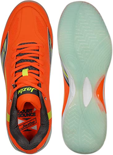 Jazba Badminton Racquetball Shoes Men, New GECKOR 2.0 Best Mens Indoor Court Wide Sneakers for Squash Volleyball Pickleball Table Tennis Training, Non ...