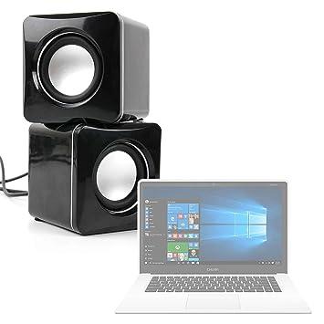 DURAGADGET Altavoces Compactos para Portátil Chuwi LapBook Air/InnJoo LeapBook A100 / Prixton Netbook 10.1: Amazon.es: Electrónica