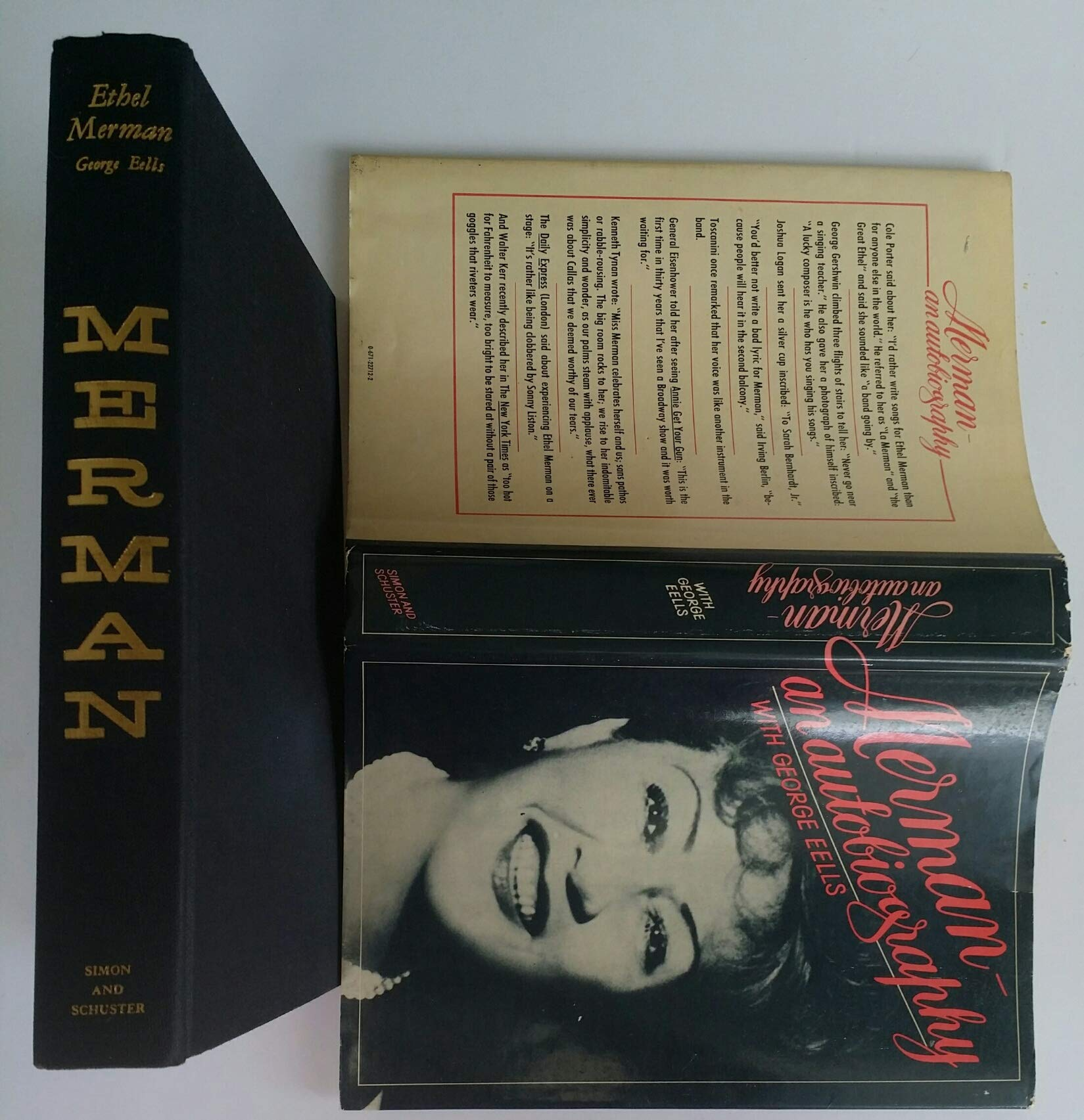 bc65e4adf66 Merman: Ethel merman & george eel: 9780671227128: Amazon.com: Books