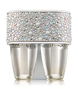 Bath and Body Works Pearly Gem Wallflower Plug Duo -- 2 in 1 Scent Switching Fragrance Diffuser and Nightlight -- Pearls Gems Sparkles Home Fragrance Wallflower Duo Plug-in