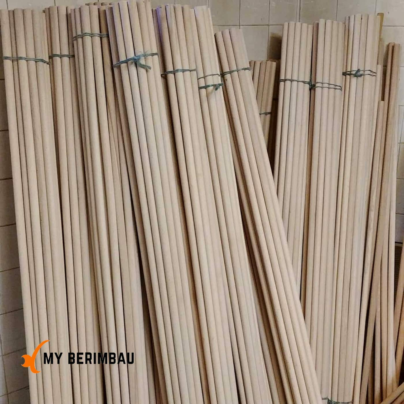 Verga raw material DIY Pack 20x pcs - Medio Size 155 cm
