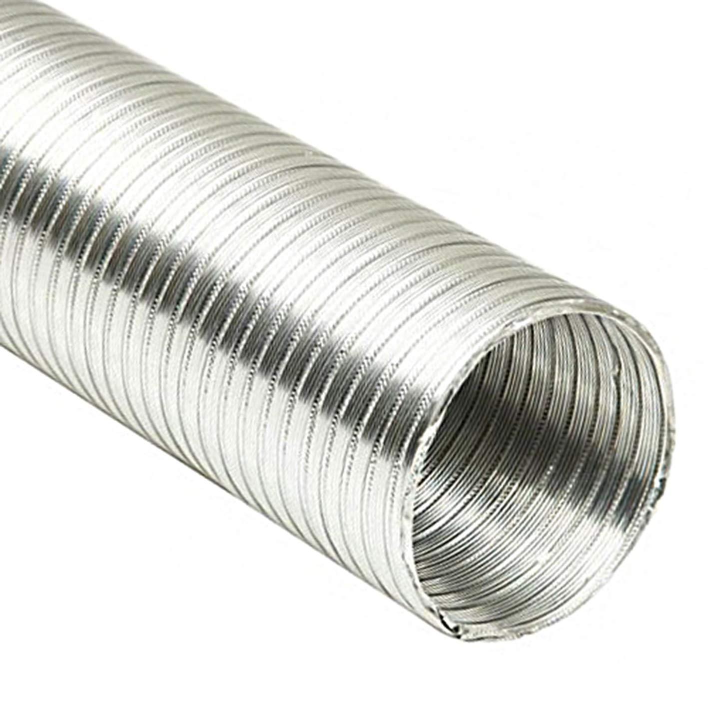 Prodmax - Tubo flexible, de aluminio, 3 m, disponible en todos los tamañ os
