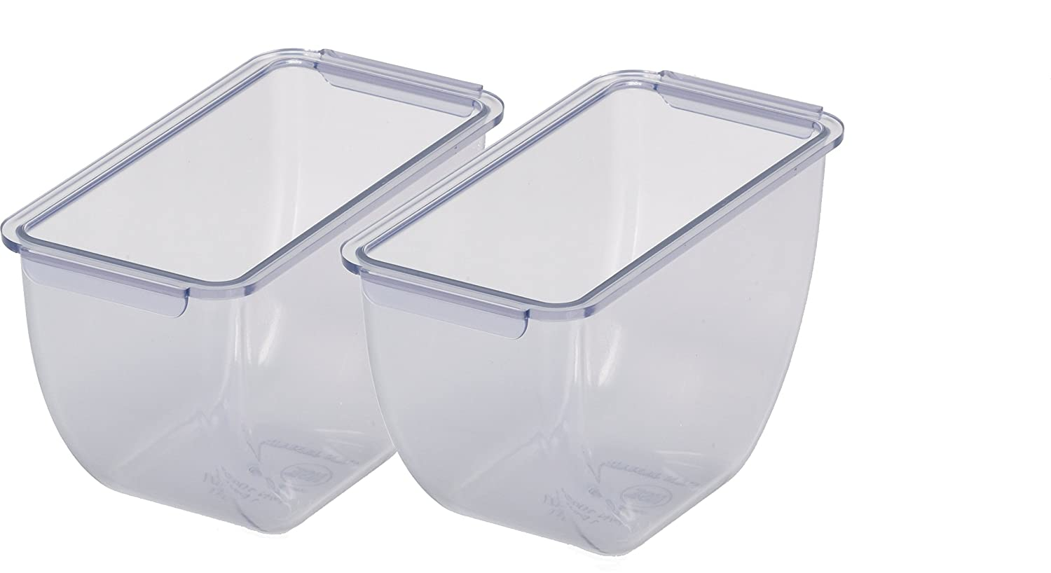 Pack of 6 San Jamar BD102 1.5pt Dome Standard Chillable Tray