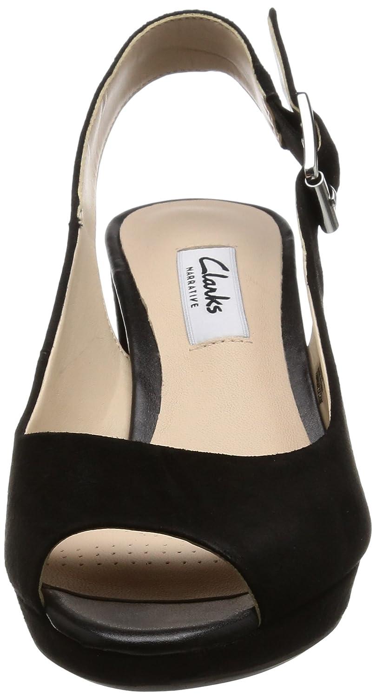 adc956c98 Clarks Women s Kelda Spring Open Toe Heel Sandals  Amazon.co.uk  Shoes    Bags