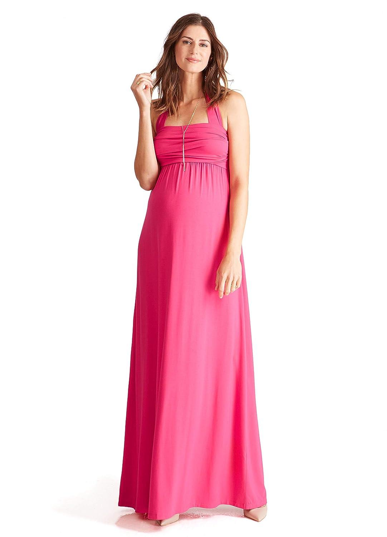 Ingrid & Isabel Women's Maternity Convertible Maxi Dress 1240