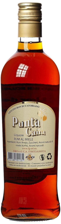 punta Cana Ron y miel licor (1 x 0,7 l): Amazon.es: Alimentación y bebidas