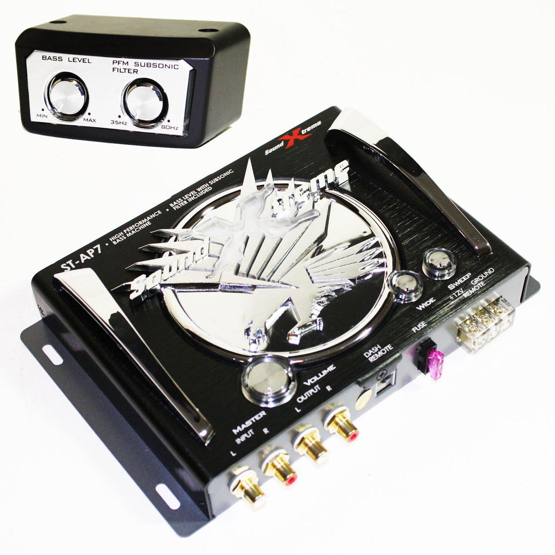 SoundXtreme BASS MACHINE EPICENTER SUBWOOFER EQUALIZATION SUB EQ RP BX-15 ST-AP7