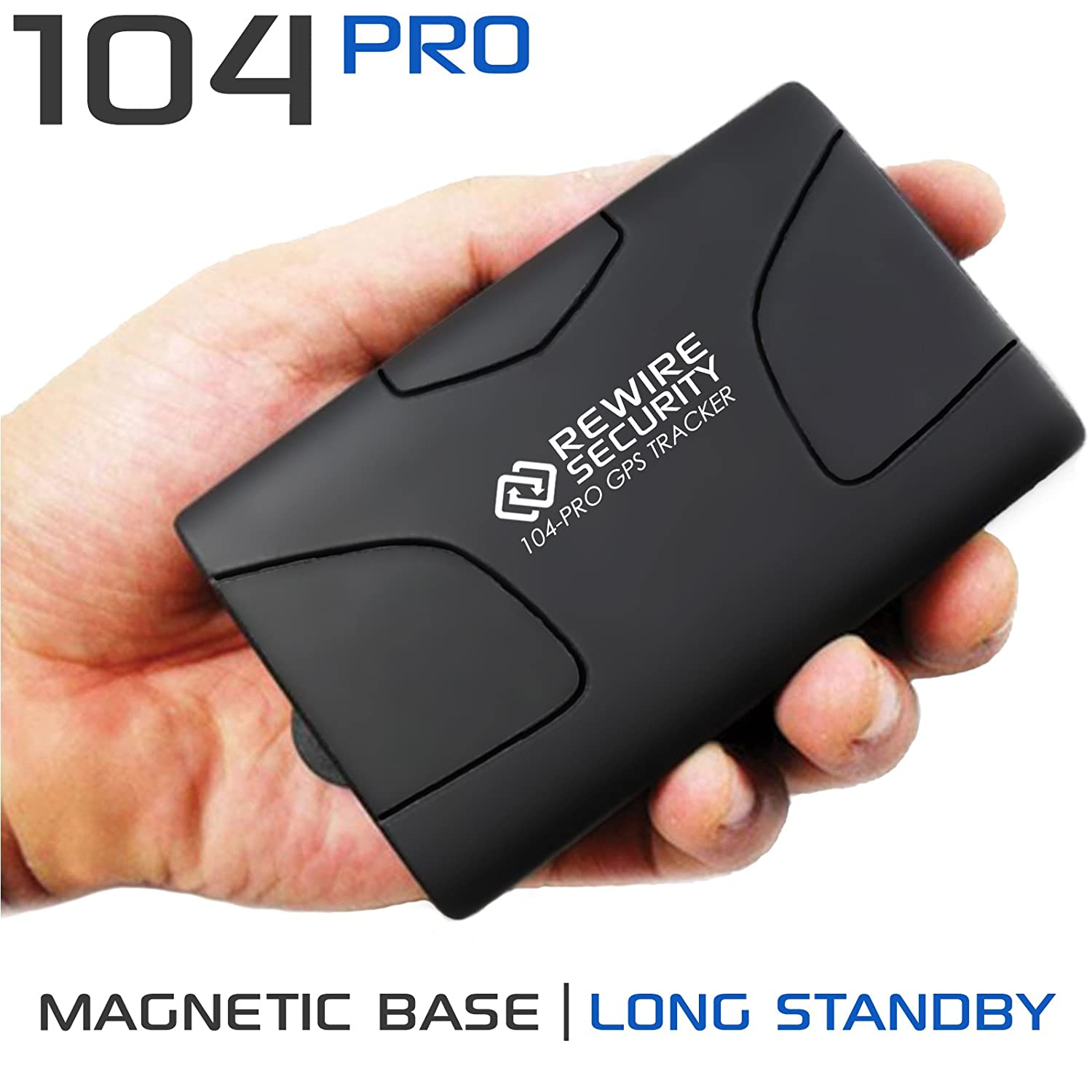 GPS TRACKER MAGNETIC REWIRE SECURITY 104-PRO COVERT HIDDEN VEHICLE TRACKING SYSTEM TK104 104-PRO TK104