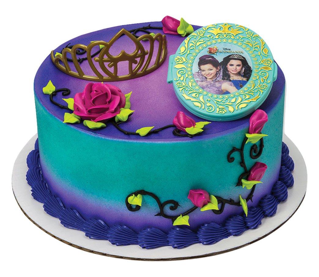Amazon Decopac Disney Descendants Under Your Spell Decoset Cake