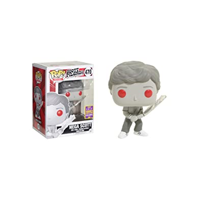 Funko POP! SDCC 2020 Summer Convention Exclusive Scott Pilgrim vs. The World 470 - Nega Scott Vinyl Figure: Toys & Games
