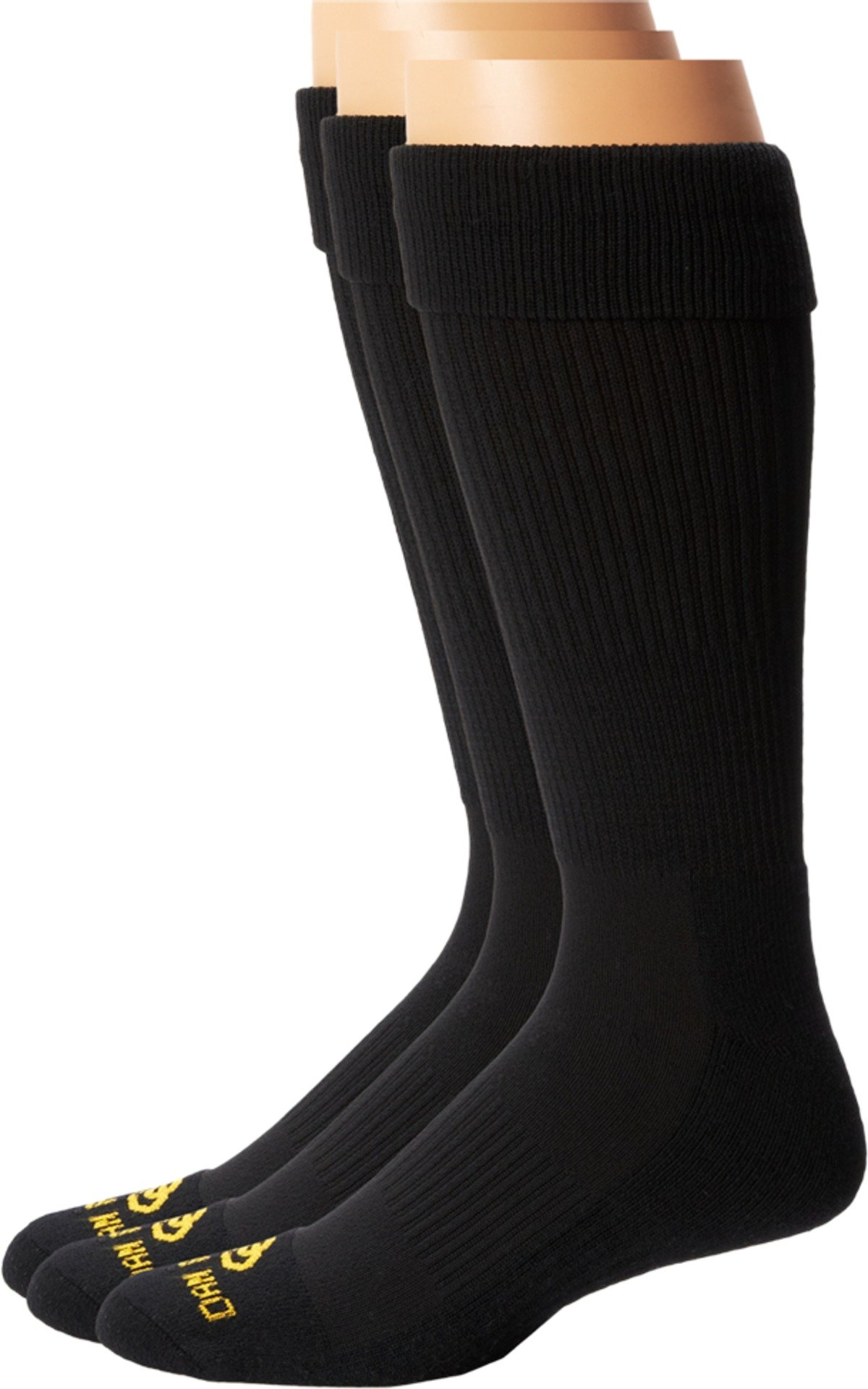 Dan Post Mens Dan Post Cowboy Certified Over the Calf Socks 3 Pack