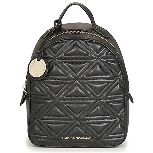 fd9f784adf91 Kennel   Schmenger Zaino Quilted Black Backpack Black Leather  Amazon.co.uk   Shoes   Bags