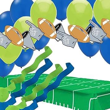 Amazon Com Seattle Seahawks Super Bowl Party Decorations Table