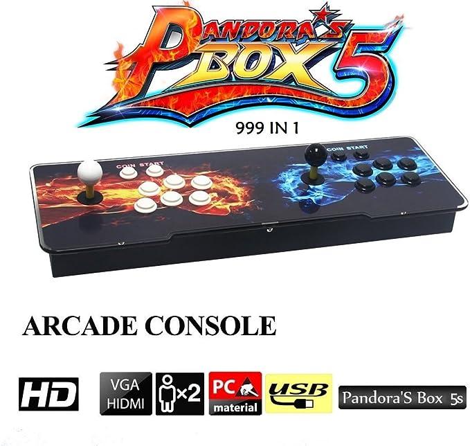 Amazon.es: MEANS 999 en 1 Caja de Pandora 5S Consolas de Juegos TV ...