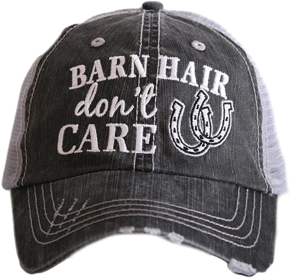 Katydid Barn Hair Don't Care Women's Trucker Hats Caps