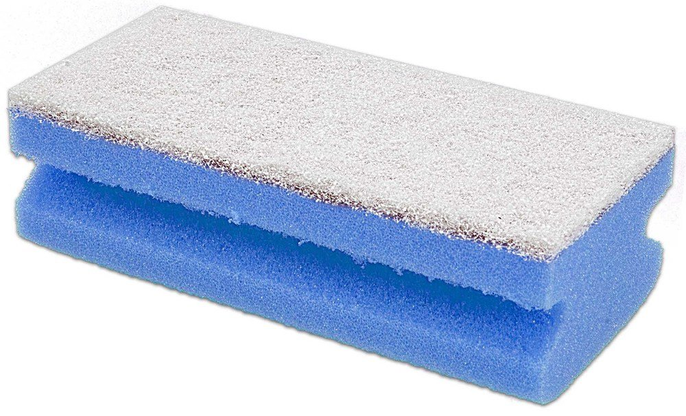The Briantina spu03559  a Sponge salvamani Mimi, 15  x 7  x 4.5  cm, Blue, 10  Pieces 15 x 7 x 4.5 cm 10 Pieces La Briantina SPU03559A
