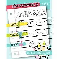 Aprendiendo a repasar: Líneas Formas Letras: Libro