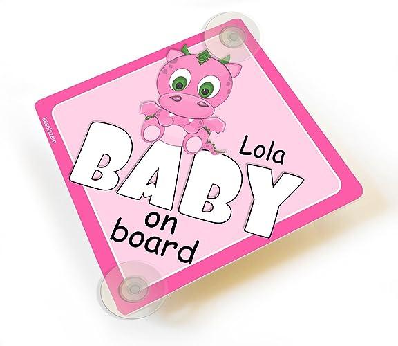 Handmade Children on Board Baby on Board Car Sign