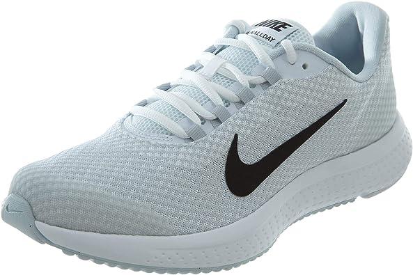 Nike Mens RunAllDay Running Shoe, Zapatillas de Trail Hombre, Multicolor (White/Black/Pure Platinum 101), 49.5 EU: Amazon.es: Zapatos y complementos