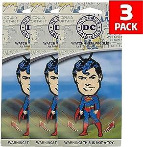 Plasticolor DC Comics Superman Car Accessories - Superman Air Freshener Wiggler (3)