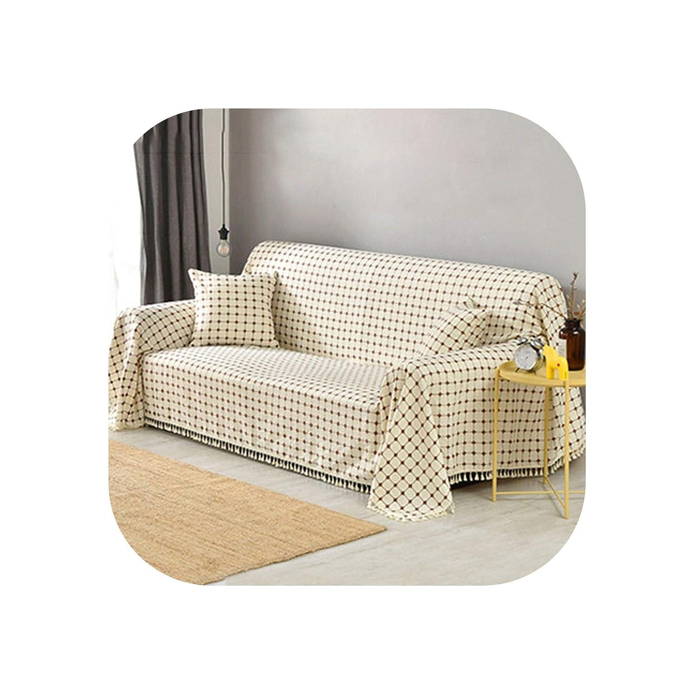 Amazon.com: U-See Cotton and Linen Sofa Cover All Inclusive ...