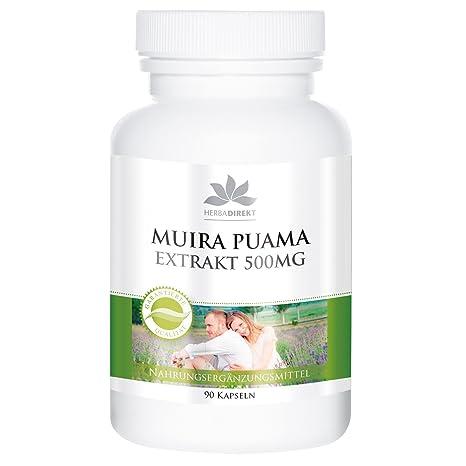 Extracto de Muira Puama – 90 comprimidos – de Herbadirekt