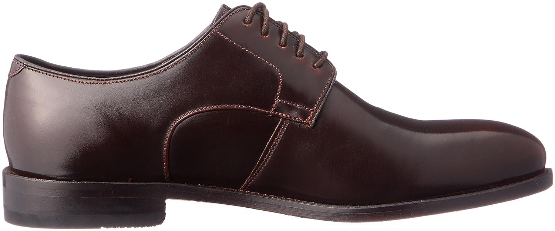 235c9da7c9067 Clarks Men's Ellis Leon Lace-Up Flats Brown Brown: Amazon.co.uk: Shoes &  Bags