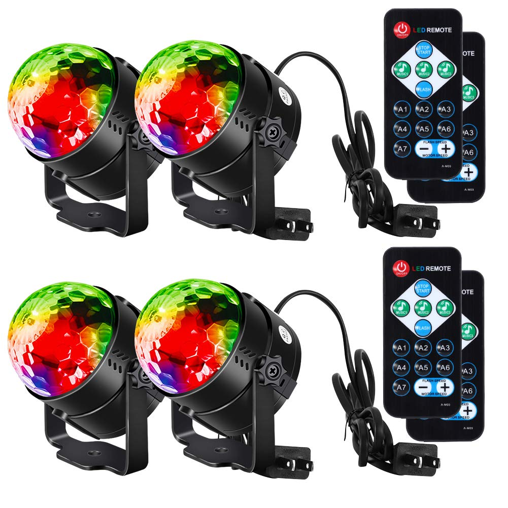 Litake party lights disco ball strobe