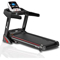 PowerMax Fitness TAC-330 (3 HP) Motorized Treadmill with Free Installation, 3 Years Motor Warranty, Home Use - Foldable…