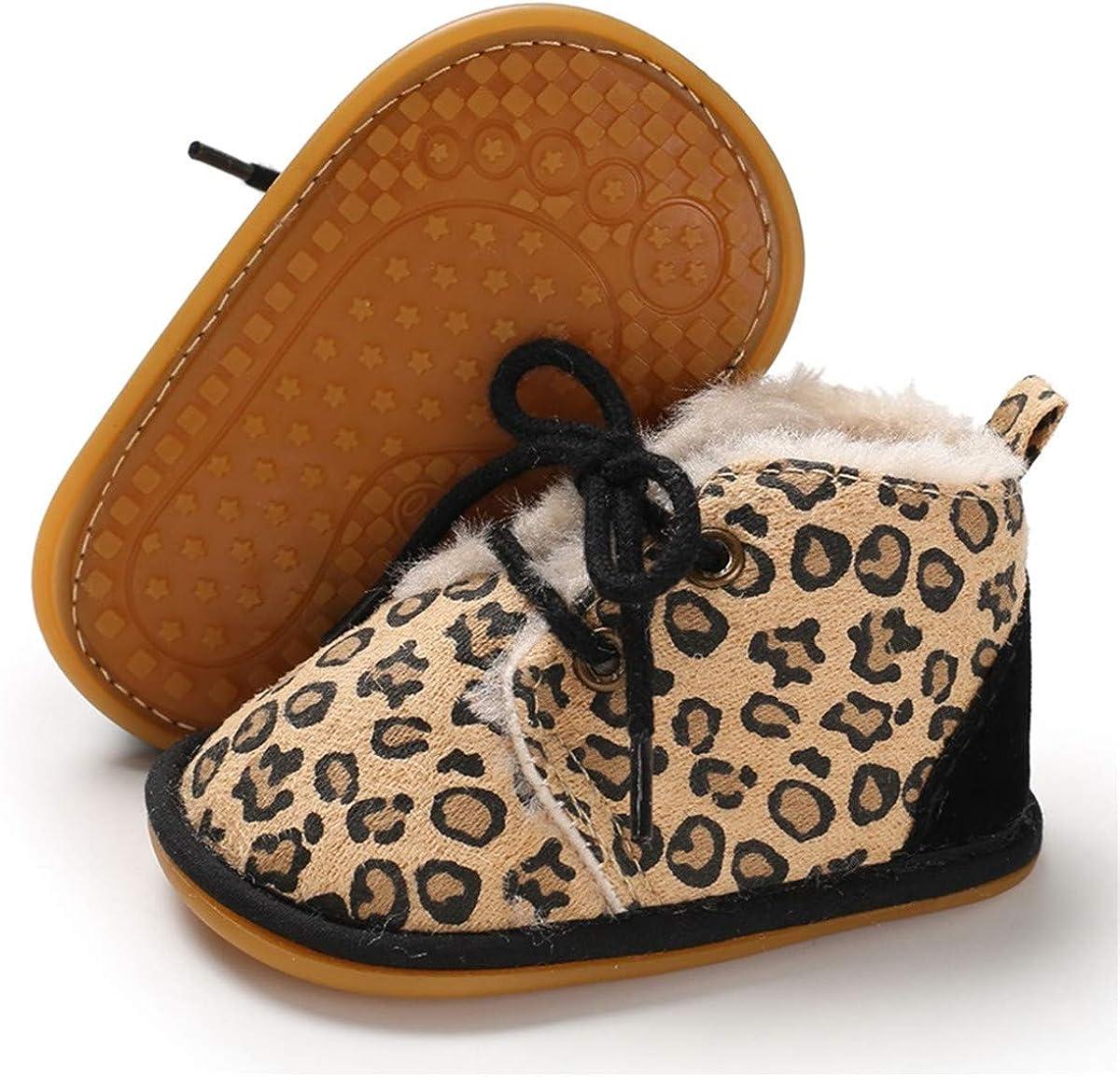 BENHERO Winter Newborn Baby Girls Boys Booties Rubber Sole Non Skid Shoes