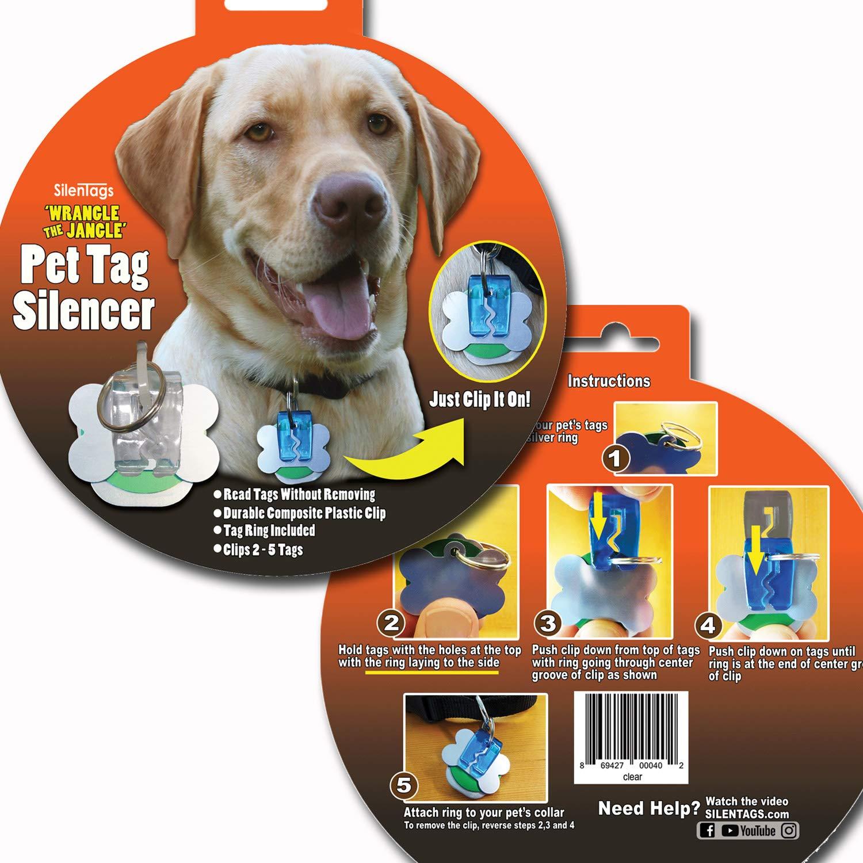 Amazon.com: SilenTags Silenciador de etiqueta de mascota ...