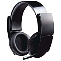 PS3 Wireless Stereo Headset - Wireless Edition