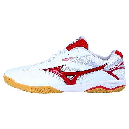 ea4364c85 Mizuno Wave Drive 7 Zapatillas de Tenis de Mesa - Rojo Blanco - 270 ...