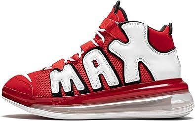 Zapatillas de Hombre Zapatillas NIKE Air More Uptempo 720 Tela roja CJ3662-600: Amazon.es: Zapatos y complementos