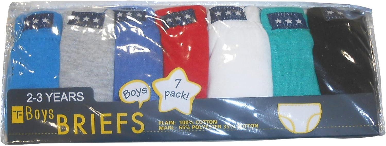 TF Boys Ragazzi 7 Confezione Cotone Slip