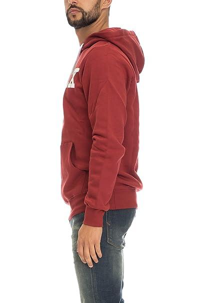 Pyrex Felpa Uomo Bordeaux Basic con Cappuccio 34205  Amazon.it   Abbigliamento 62a5f68f1f2e