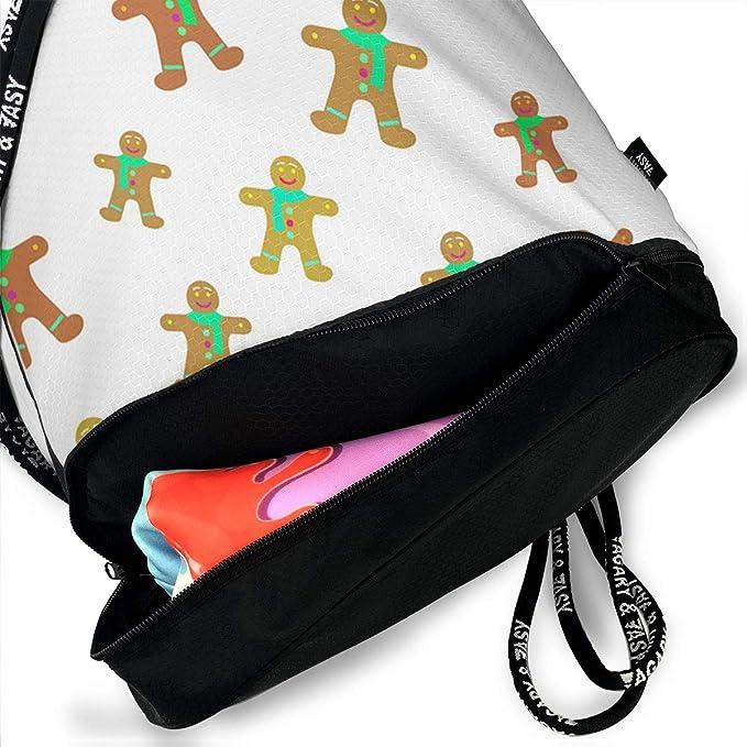 HUOPR5Q Christmas Drawstring Backpack Sport Gym Sack Shoulder Bulk Bag Dance Bag for School Travel