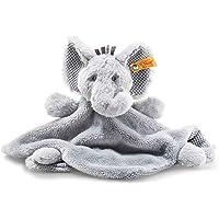 Steiff Soft Cuddly Friends Ellie Elephant Comforter, Grey