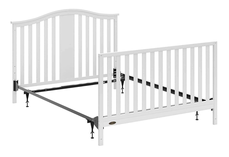Graco Full-Size Crib Metal Bed Frame Conversion Kit, Black: Amazon ...