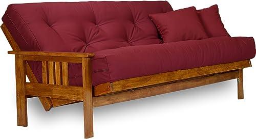 Stanford Futon Frame – Queen Size, Solid Hardwood