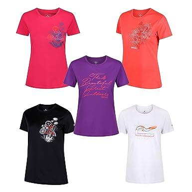 1b32db9904ef78 Regatta Damen T-Shirt Sportshirt Fingal III RWT152  Amazon.de ...