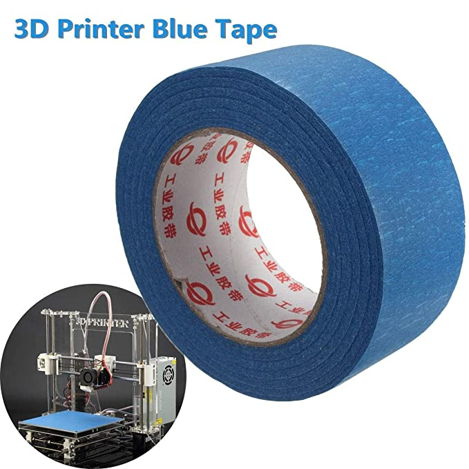 EPNT - Cinta adhesiva azul para pintores de cama (50 mm x 50 m ...