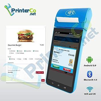 TPS900 - PrinterCo Impresora de recibos térmica POS de Android con ...