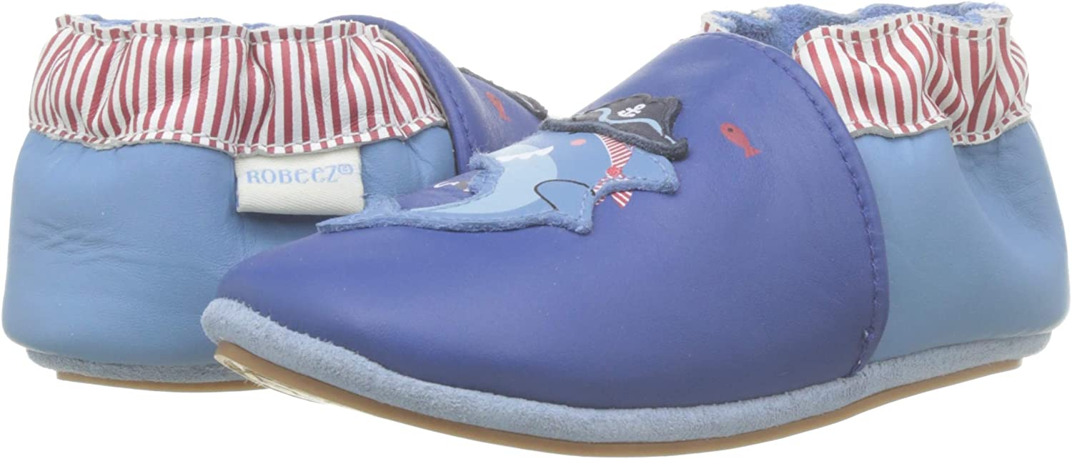 Robeez Pirate Shark Chaussons Mixte b/éb/é