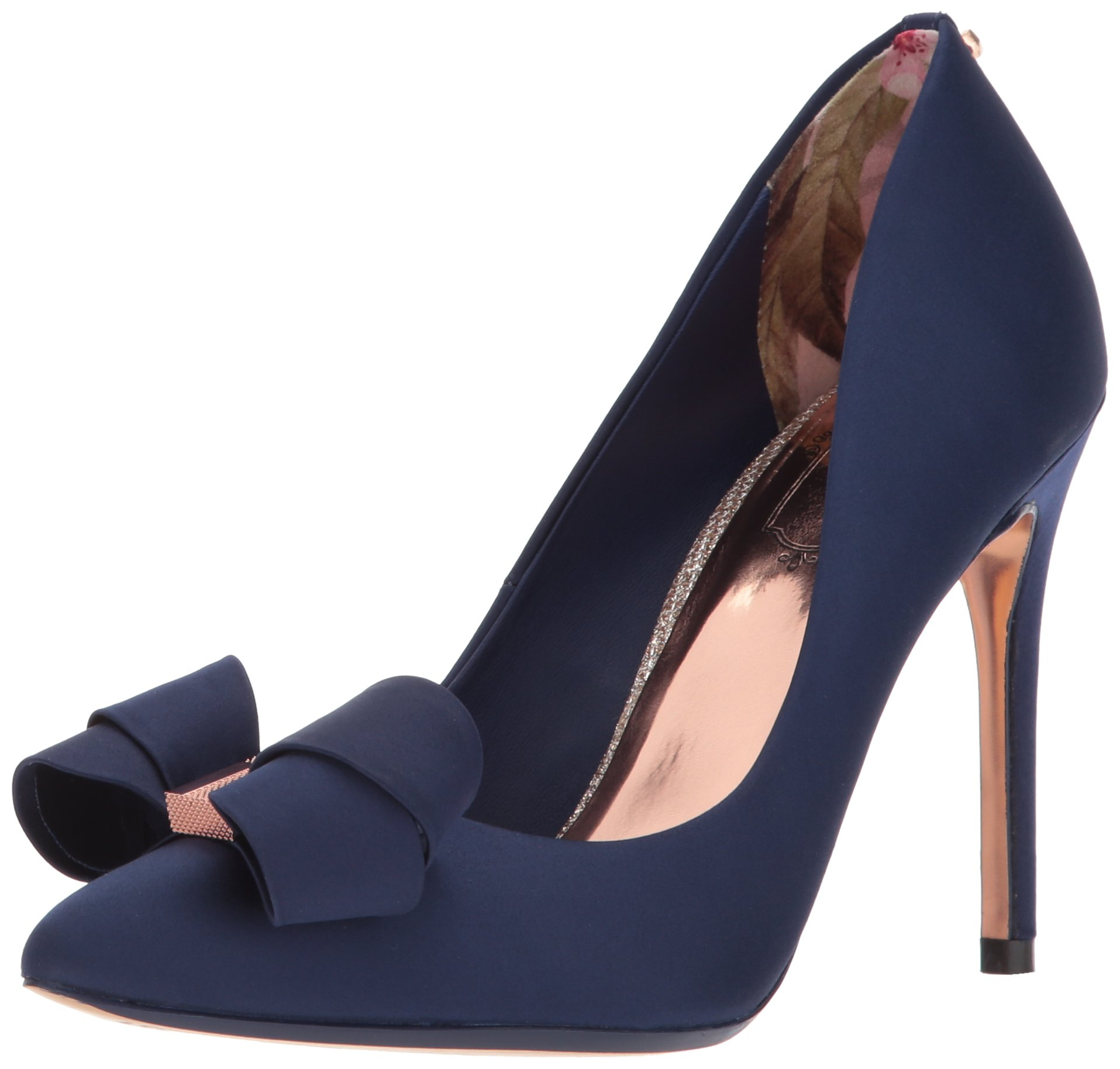 Ted Baker Women's Skalett Pump, Navy, 6.5 B(M) US