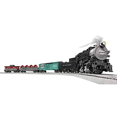 Lionel Trains - NYC Flyer 0-8-0 LionChief Set with Bluetooth, O Gauge: Toys & Games
