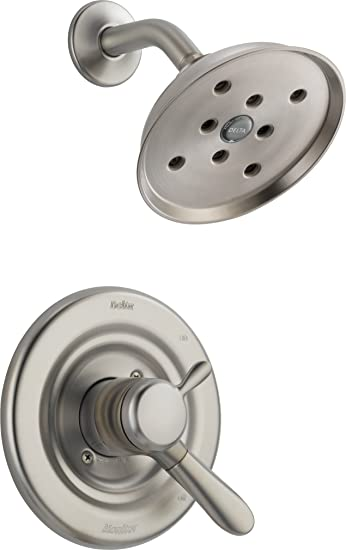 delta t17238ssh2o lahara monitor 17 series shower trim stainless