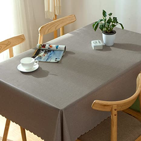 HYLZD Tovaglie per tavoli rettangolari tessuto da tavolo da cucina ...
