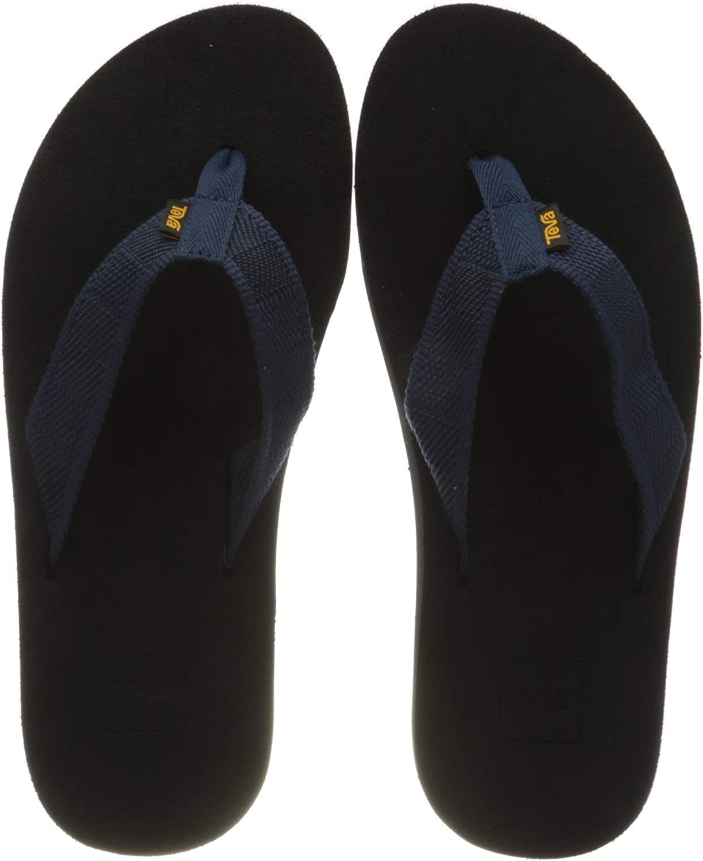 Teva Men's free M Voya Flip Flop A surprise price is realized Leather